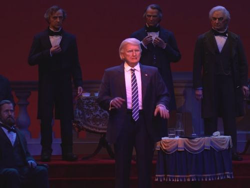 Disney World just added Trump to its Hall of Presidents - and people are horrified