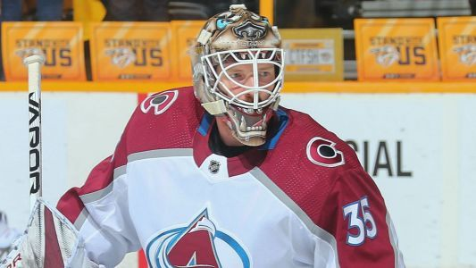 NHL playoffs 2018: Legend of Andrew 'Hamburglar' Hammond grows as Avalanche force Game 6