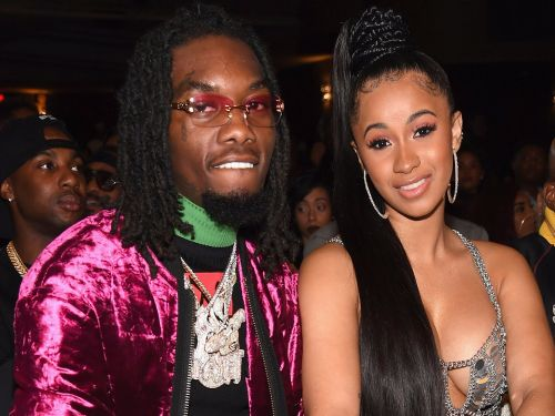 Cardi B shared a never-before-seen photo from her secret wedding to Offset
