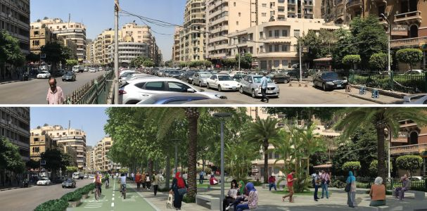 Paving the Way for Cyclists in Cairo