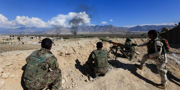 A US airstrike has killed the leader of the Taliban's special forces, known as the 'Red Unit'