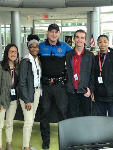 School resource officers trained to run towards the threat