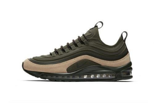 """Nike's Air Max 97 Ultra Surfaces in """"Sequoia"""""""
