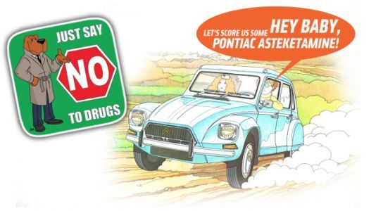 Ten Automotive-Themed Street Drugs You Should Be Aware of That I Probably Made Up