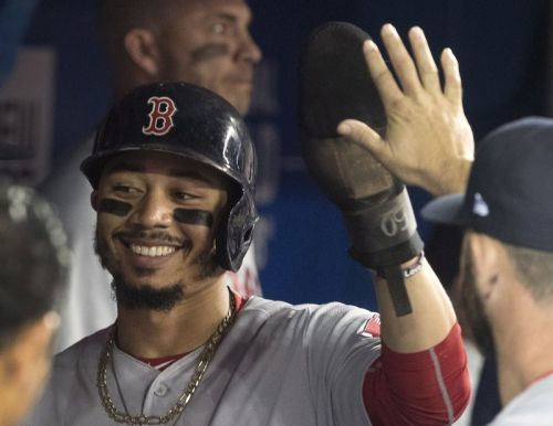 Mookie monster! Betts homers in 9th to complete cycle