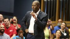 Democrat Andrew Gillum Back On Campaign Trail for Florida Governor After Hurricane Break