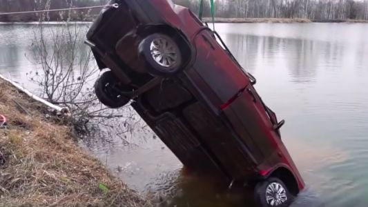 Here's How Hard It Is to Start a Car That's Been Underwater for Six Months