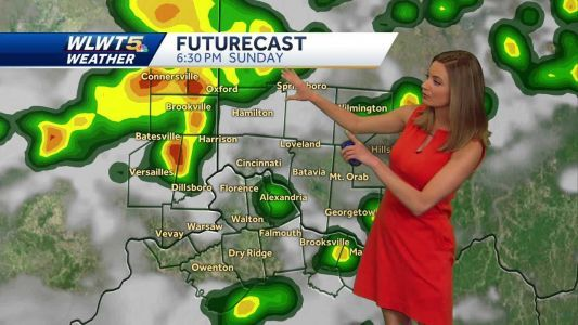 Strong storms possible Sunday
