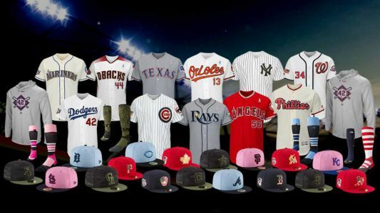 MLB unveils holiday, special-event uniforms for 2018