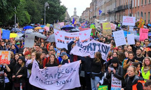 Ireland has done it! Vote to overturn cruel abortion ban wins