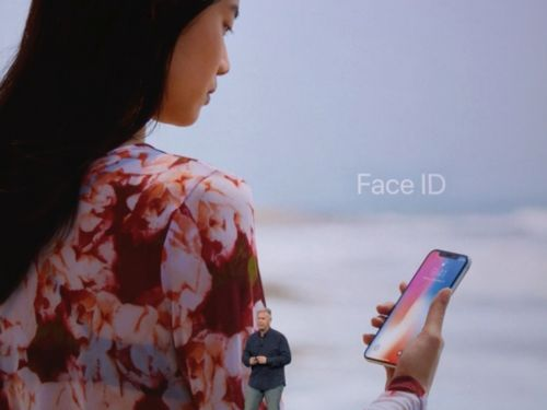 You'll need to use your face, instead of your fingerprints, to unlock the new iPhone X