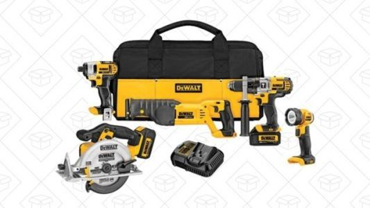 Tackle Your Next DIY Project With a Massive DEWALT Combo Kit Discount