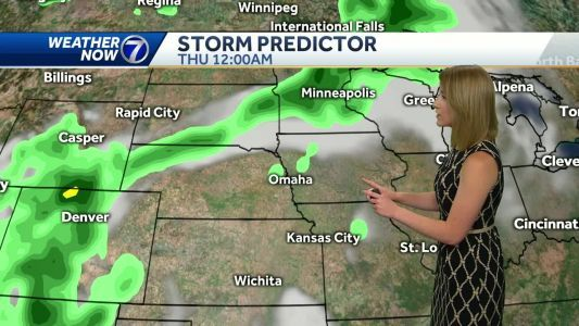 Dry today, rain chances return later this week