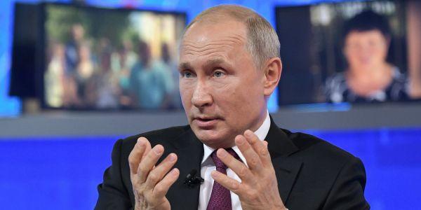 Putin says liberalism has 'outlived its purpose' and praised Trump's tough immigration policies ahead of the G20 summit