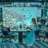 Live Out Your Mermaid Dreams at This Underwater Restaurant in the Maldives - No Fins Required