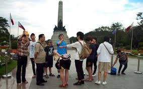 The Philippines receives a record of 6.8 million tourists last year