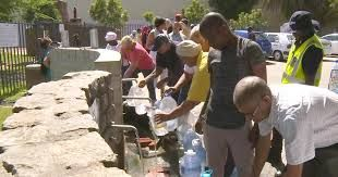 Cape Town fights with scarcity of water