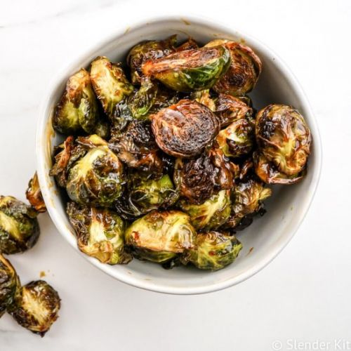 Crispy Asian Brussel Sprouts