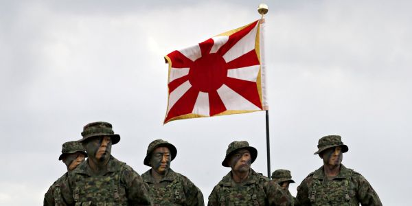 Japan activated an elite marine unit for the first time since World War II to counter China - and it's getting ready for its first naval exercise
