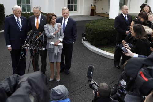 Dems say president 'walked out of meeting' over shutdown; Trump says it was 'total waste of time'