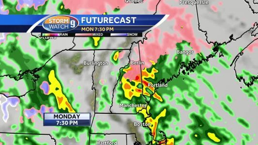 Freezing rain leads to slick roads; rain, 30-60 mph gusts likely later