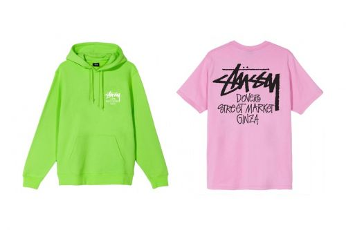 Dover Street Market Ginza Taps Stussy for Logo-Clad Chapter Pack
