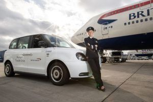 Taxi! British Airways Adds Electric London Taxis To Its Premium Transfer Fleet