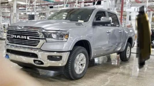 Here's The 2019 Ram 1500 Before You're Supposed To See It
