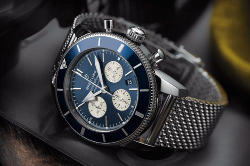 Breitling Updates Its Superocean Heritage II Chronograph