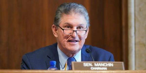 Sen. Joe Manchin says Biden's infrastructure bill can be as large as $4 trillion as long as it's paid for with tax increases