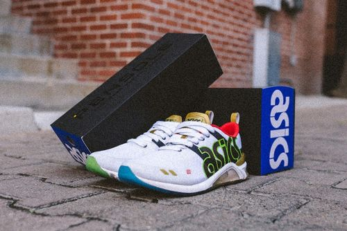 "PENSOLE & ASICS GEL-180 Debut Student-Designed ""Fresh Up"" Silhouette"