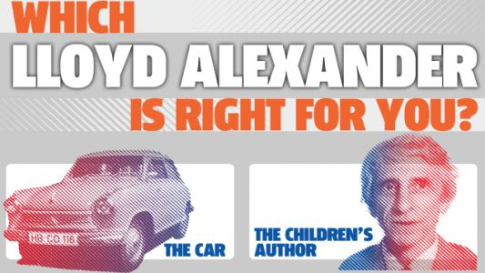 This Chart Will Help You Pick Which Lloyd Alexander Is Right for You