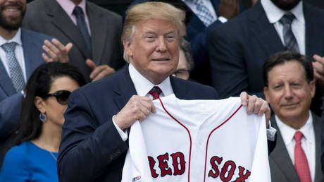 'The opposite of being on Sports Illustrated!': Trump hints Red Sox form down to White House visit