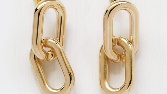 Maria Wants to Swap Her Gold Hoops For These Gold Chain Earrings