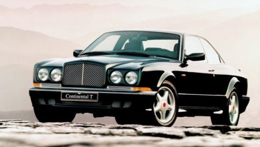 The 1997 Bentley Continental T Was a $300,000 Heavyweight With Physics-Defying Torque and Grip