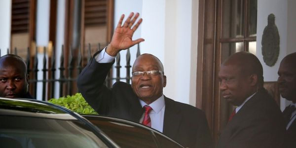 Jacob Zuma has resigned as president of South Africa