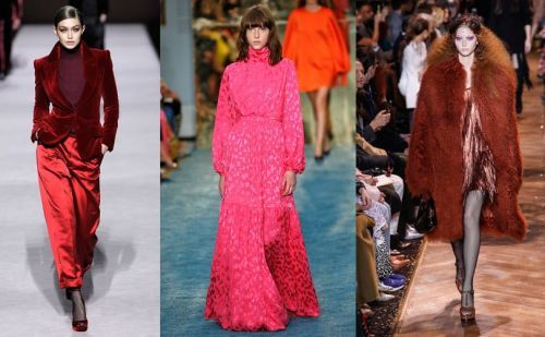 Spotted on the Catwalk: Key Colors at New York Fashion Week AW19