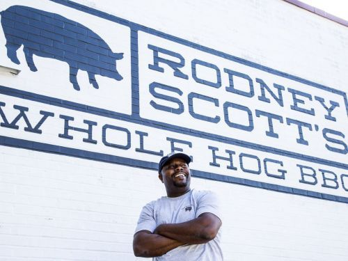 Famed Pitmaster Rodney Scott Wants to Bring Whole Hog Cooking Everywhere