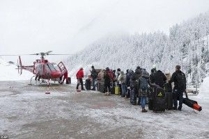 More than 1000 tourists stranded for second time in Zermatt