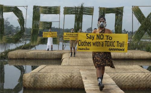 Greenpeace is detoxifying the clothing industry