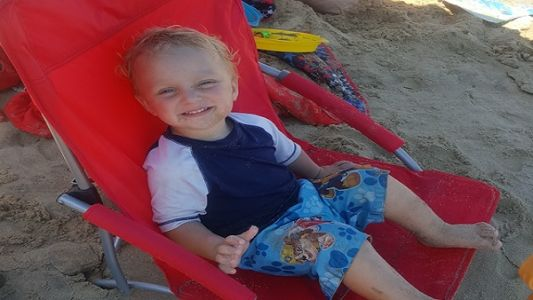 'He was full of life': 2-year-old fatally struck by vehicle while driving toy car