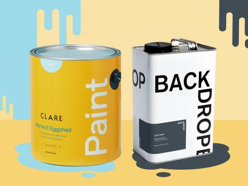 Backdrop vs. Clare - how the two home paint startups compare
