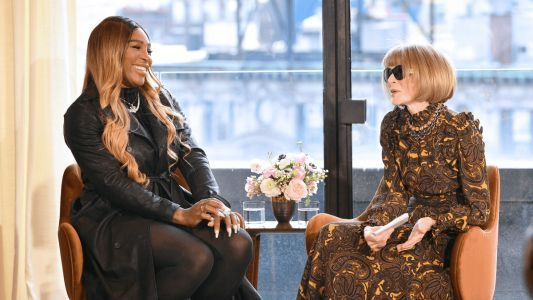 Serena Williams Presented Her Spring 2020 S by Serena Collection in Conversation With Anna Wintour