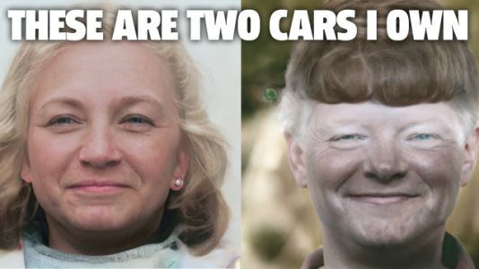 Running Car 'Faces' Through An AI Face-Processing Algorithm Is Amazing And Terrifying