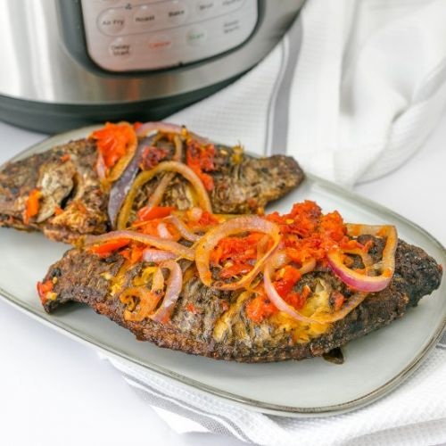 INSTANT POT TILAPIA FISH