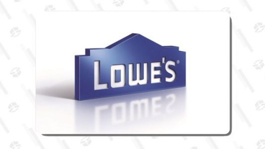 Buy a $100 Lowe's Gift Card, Get An Extra $15 Loaded On For Free