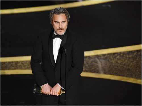 Joaquin Phoenix saved a baby calf from a slaughterhouse the day after winning his Oscar