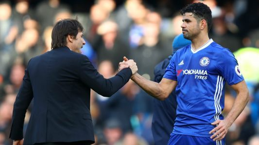 Costa has 'no bitterness' towards Conte after securing Chelsea exit
