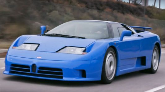 These Bugatti EB110Explainers Will Give You a New Appreciation for That Toy Blue Car You Had
