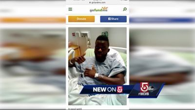 Marathon bombing survivor visits injured MBTA conductor
